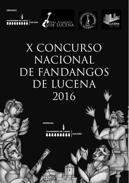 Cartel X Concurso Fandangos